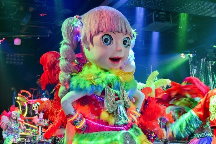 ロボットレストラン ちょっと怖い人形