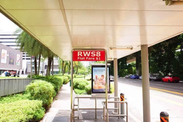 ユニバーサルスタジオシンガポール バス停留場