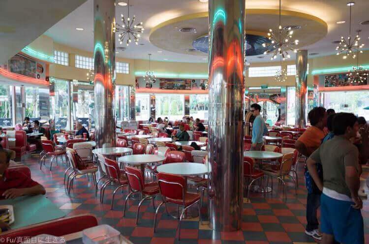 ユニバーサルスタジオシンガポール アメリカンレストラン