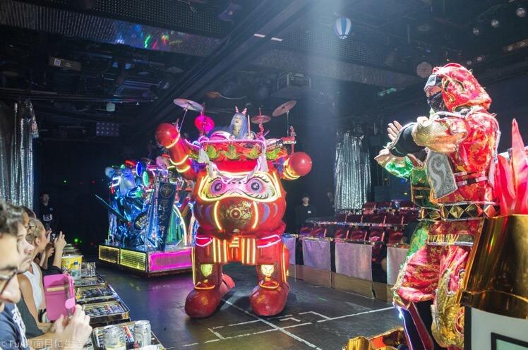 ロボットレストラン 太鼓ロボット