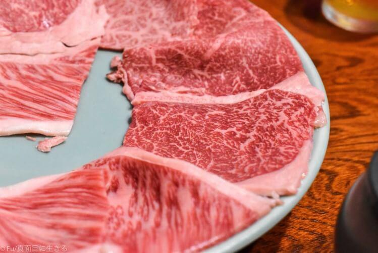 今半本店 上コースの肉