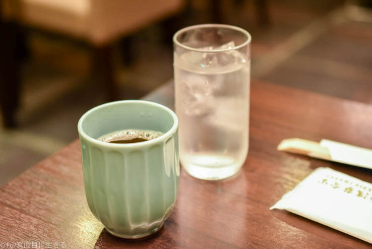 浅草今半 お茶