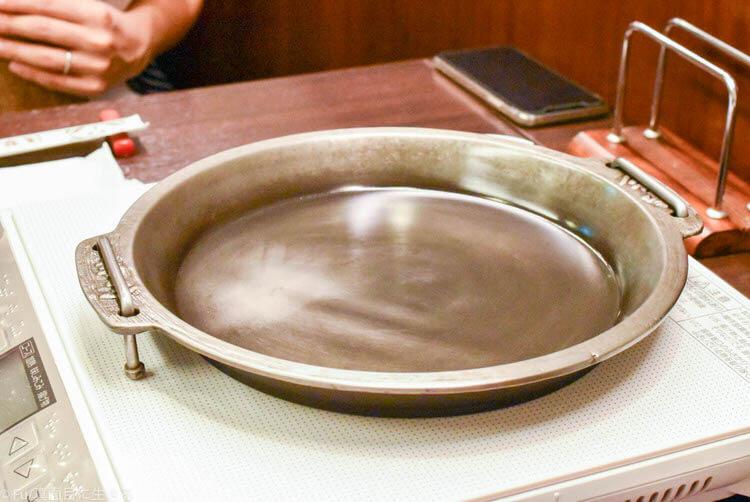 浅草今半 東京グランルーフ店  すき焼き鍋