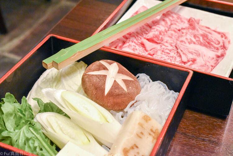 浅草今半 東京グランルーフ店  ランチのすき焼き
