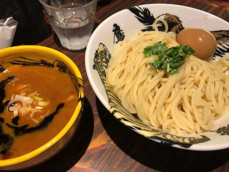 虎辛つけ麺