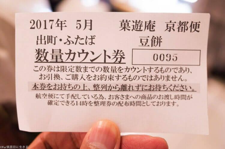 東京 日本橋三越本店 整理券