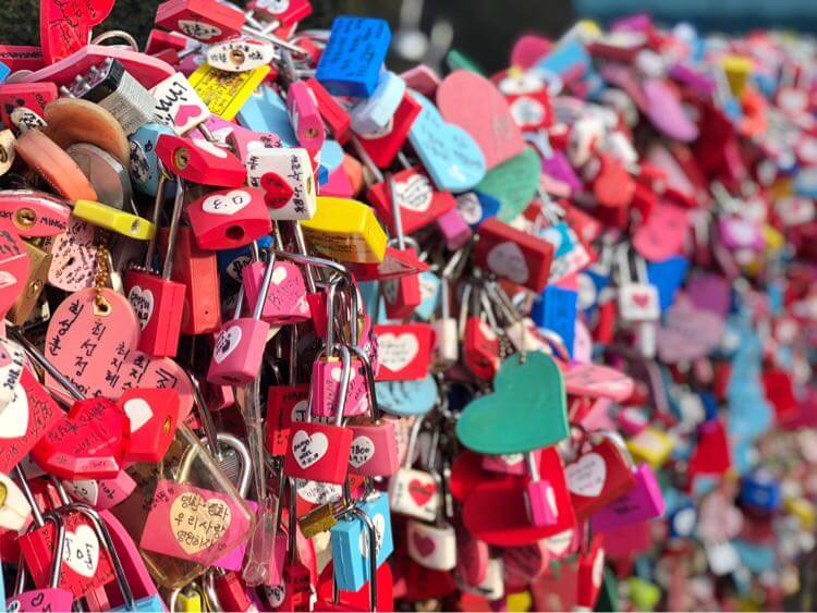 愛の鍵アップ