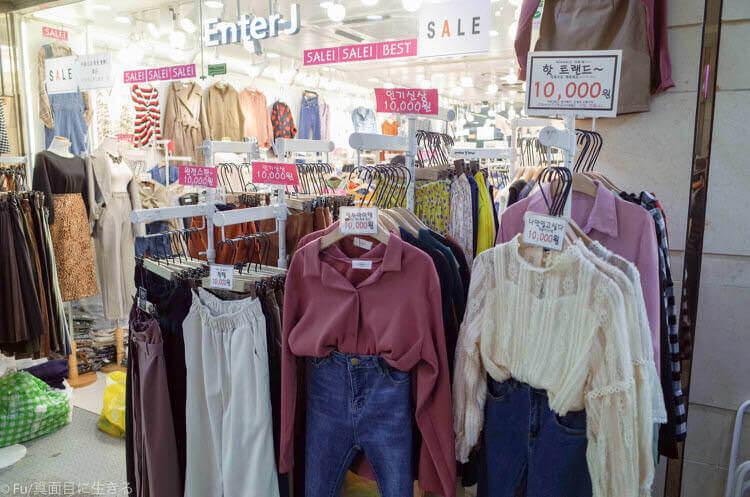 ソウル GOTO MALL 服が10,000ウォン