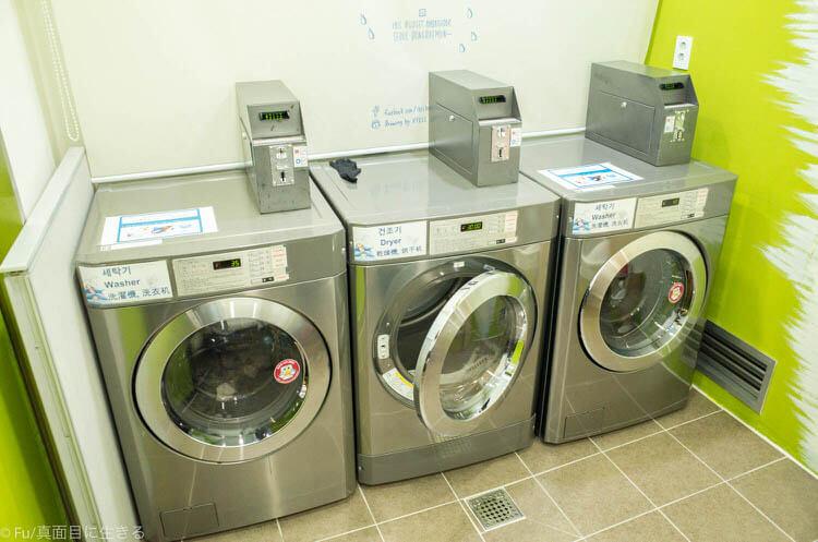 イビス バジェット アンバサダー ソウル 東大門 洗濯機・乾燥機