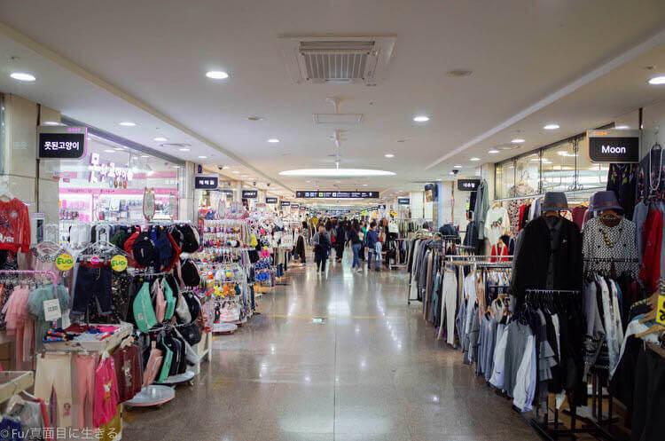 ソウル GOTO MALL 地下ショッピングモール