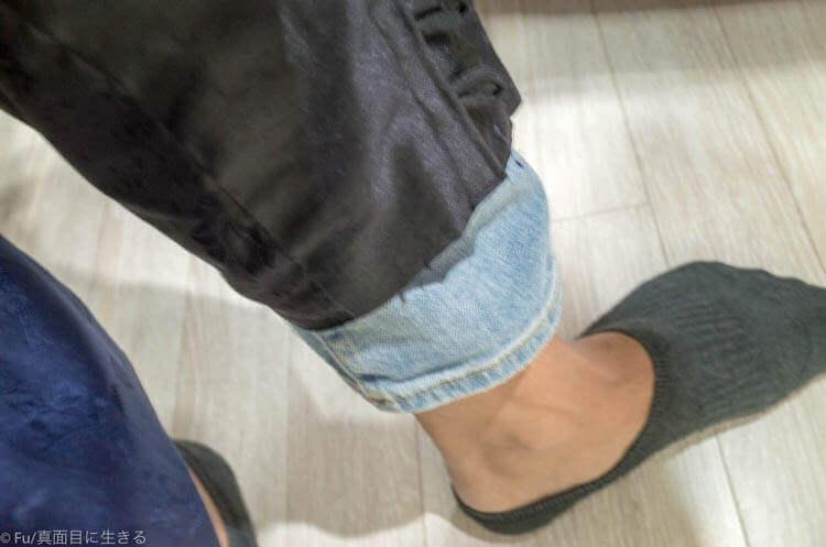 ソウル・景福宮で韓服(ハンボッ・チマチョゴリ)レンタル ズボン