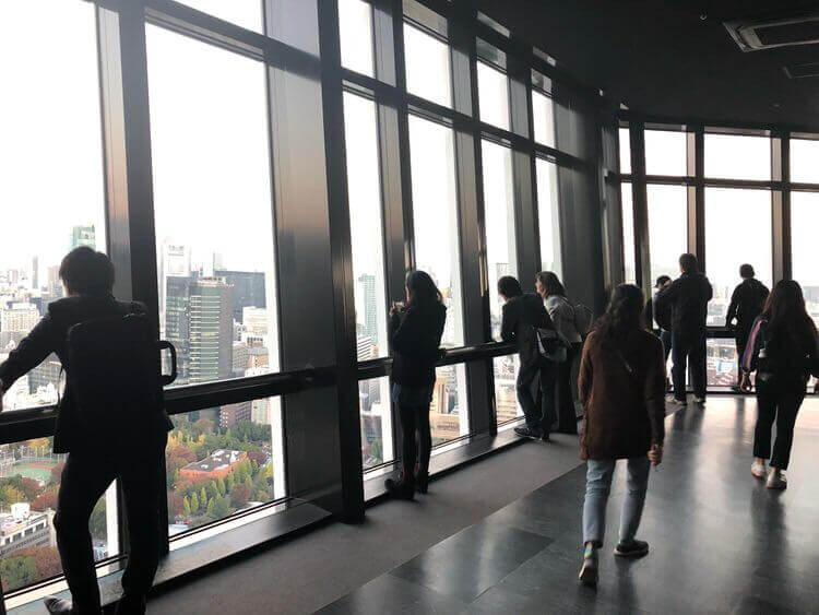 東京タワー展望デッキ