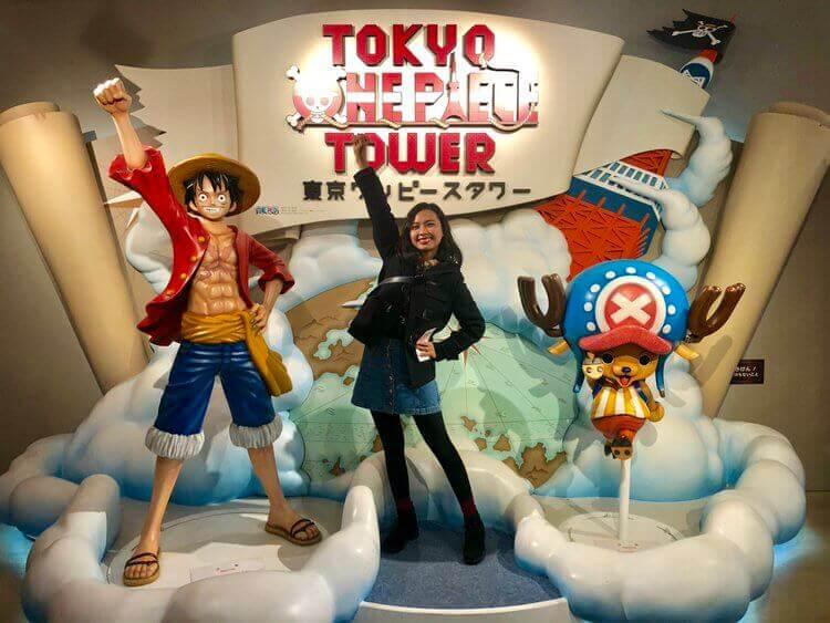 東京ワンピースタワー 記念撮影