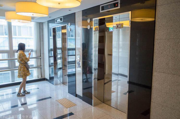 Hotel Atrium (ホテル アトリウム) エレベーター