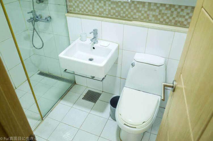 ヒュンダイ レジデンス ソウル トイレ 洗面所