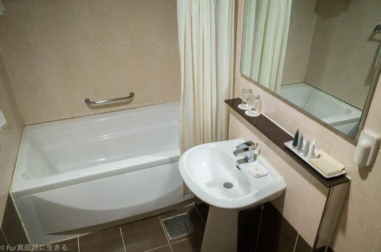 Hotel Atrium (ホテル アトリウム) バスルーム