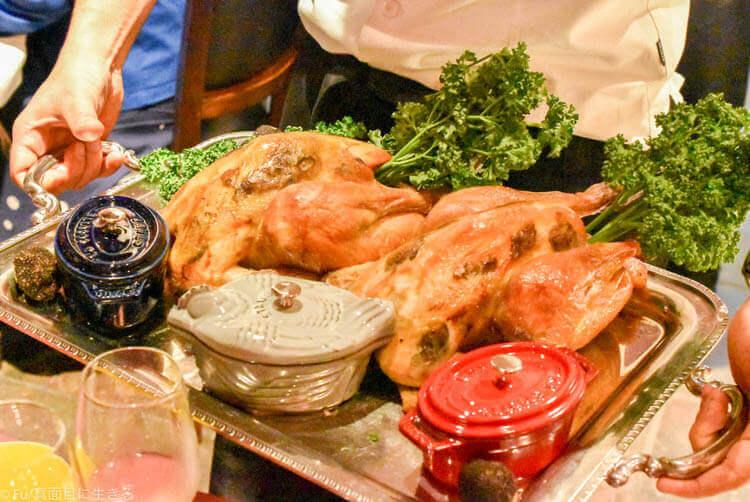 フランスブレス産 若鶏のロティー トリュフソース