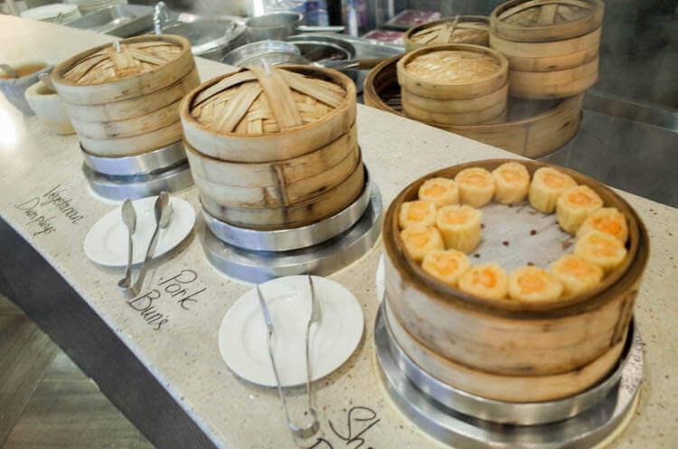 ホーチミン ニューワールド サイゴン ホテルの朝食ブュッフェ シュウマイ