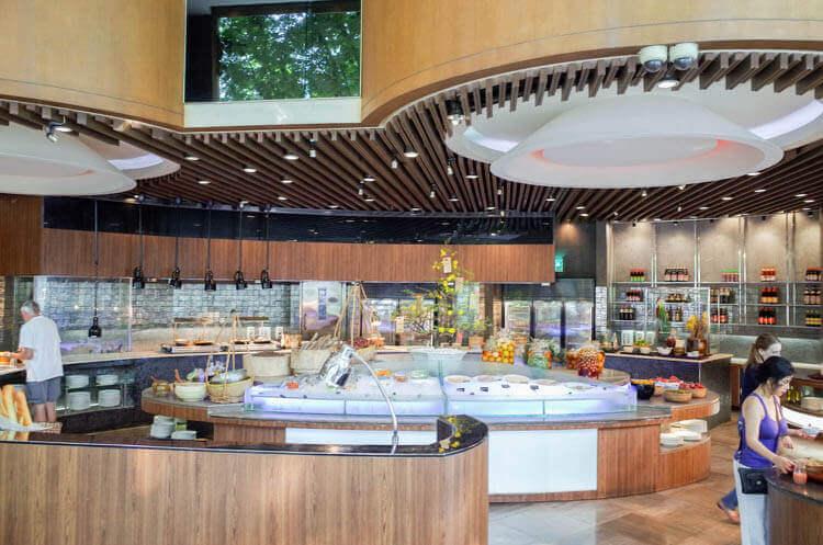 ホーチミン ニューワールド サイゴン ホテルの朝食ブュッフェ
