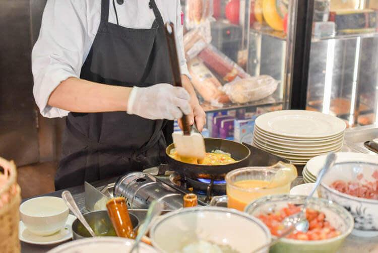 ホーチミン ニューワールド サイゴン ホテル【朝食ブュッフェ】どんなメニューがある?営業時間は何時から?