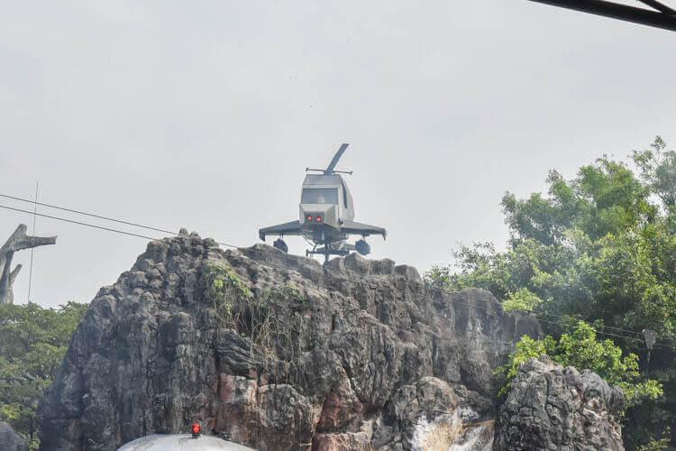 サファリワールド ヘリコプター