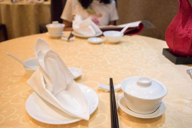 李白(Li Bai) テーブルセッティング