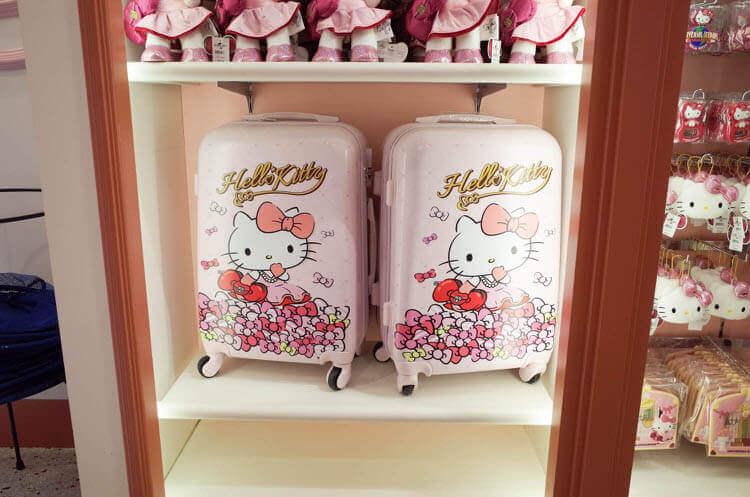 ハローキティスーツケース