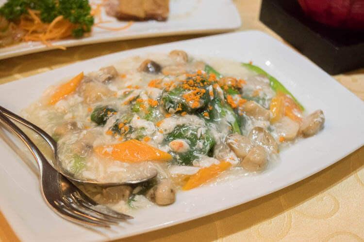 李白(Li Bai) 野菜炒め