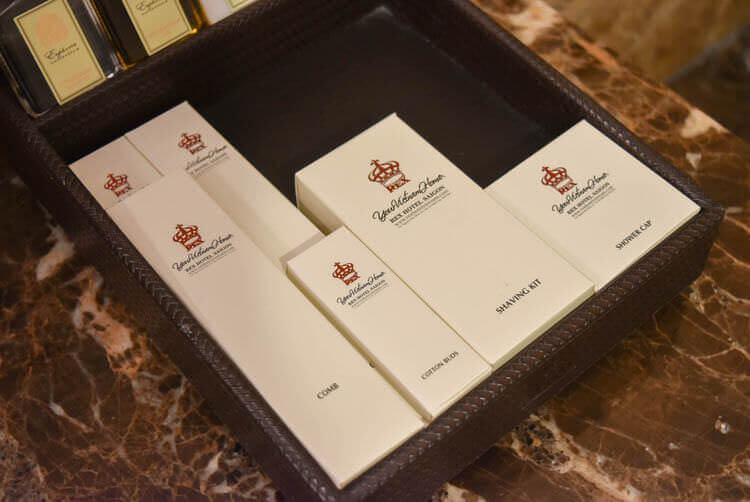 レックス ホテル サイゴン アメニティ