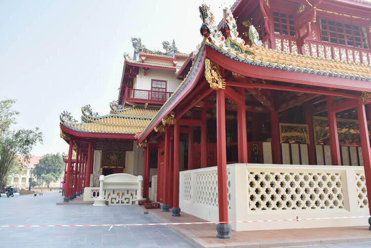 バンパイン宮殿 中国系の建物