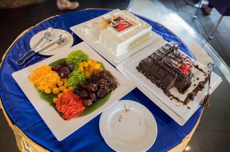 リバークルーズランチ ケーキ