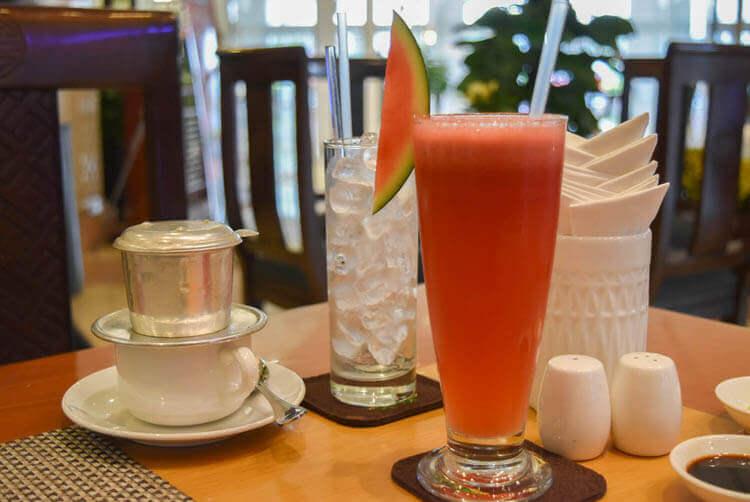 レックス ホテル サイゴン スイカジュース