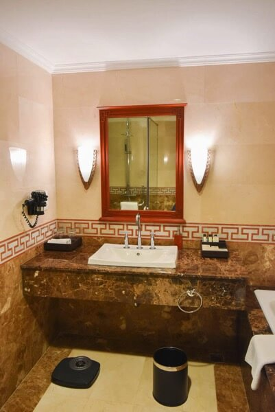 レックス ホテル サイゴン 洗面所