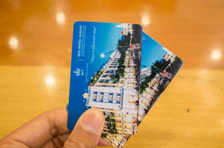 レックス ホテル サイゴン カードキー