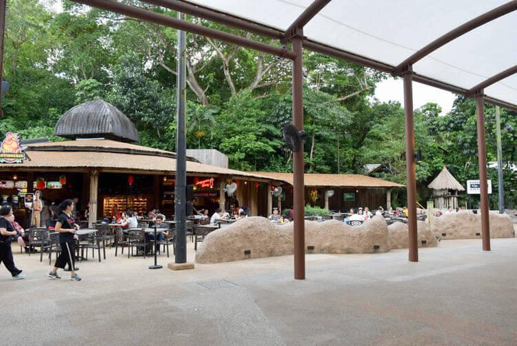 シンガポールナイトサファリ ジャングル ロティサリーレストラン エントランス