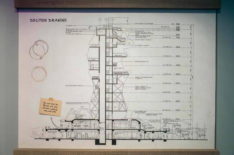 マーライオンタワーの設計図