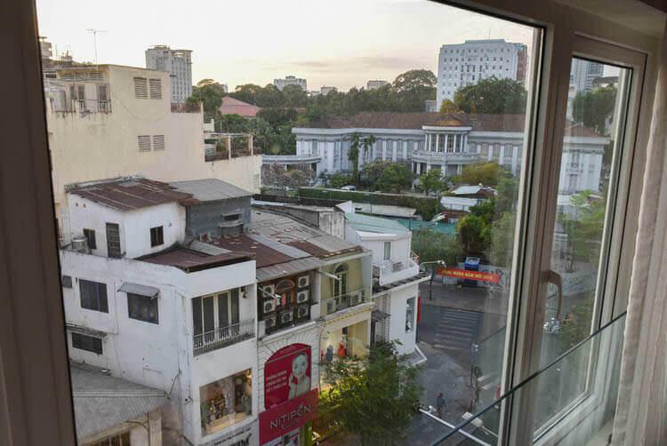 レックス ホテル サイゴン 窓からの風景