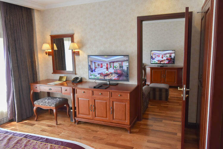 レックス ホテル サイゴン 寝室