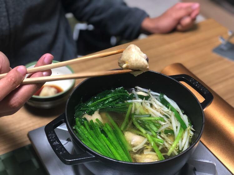 ぼんじり鍋