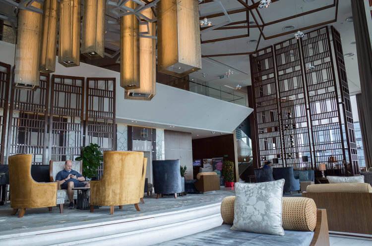 シンガポール ウェスティンホテルロビー