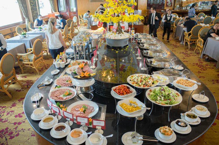 レックス ホテル サイゴン 朝食ブュッフェ