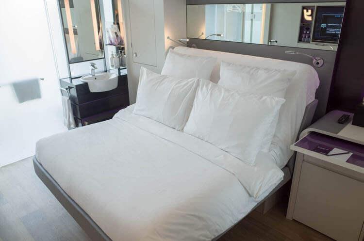 ヨーテル シンガポール オーチャードロード ベッド