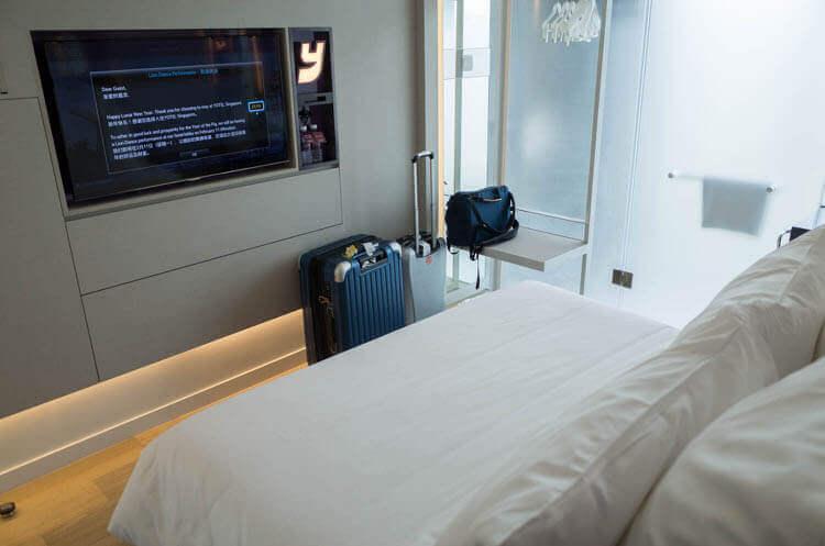 ヨーテル シンガポール オーチャードロード 部屋の様子