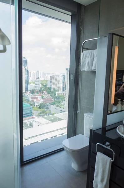 ヨーテル シンガポール オーチャードロード トイレ