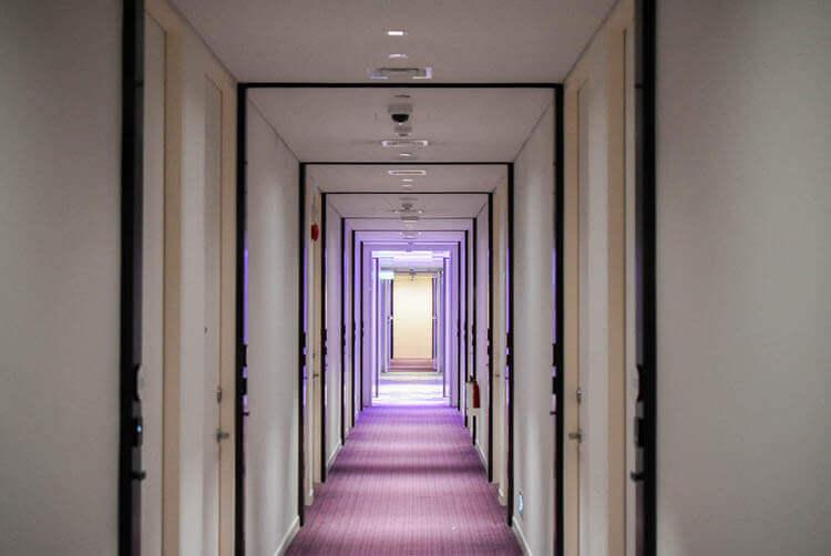 ヨーテル シンガポール オーチャードロード 廊下