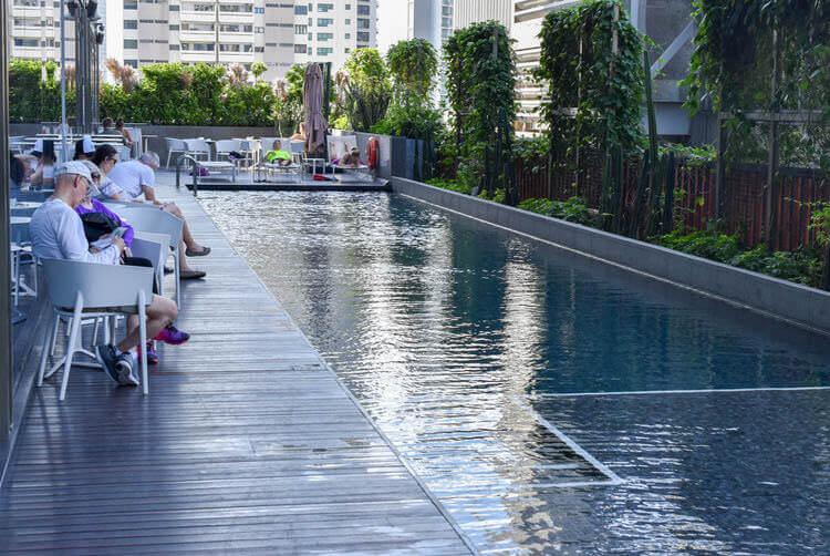 ヨーテル シンガポール オーチャードロード プール