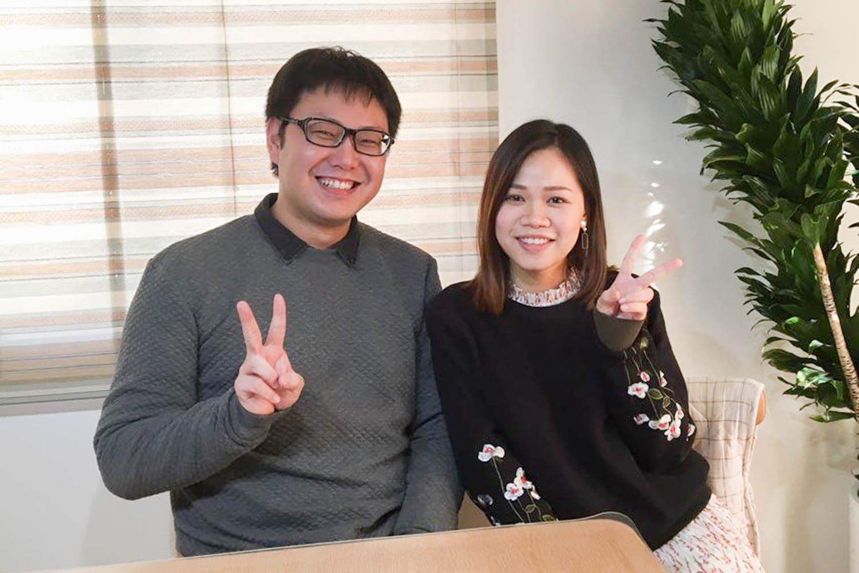 日本人・ベトナム人のカップルにインタビュー【第1弾】ハノイで知り合ったくっちゃんとヌーちゃん