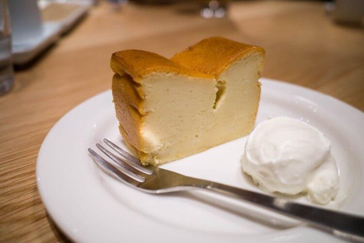 銀座 無印良品食堂 チーズケーキ