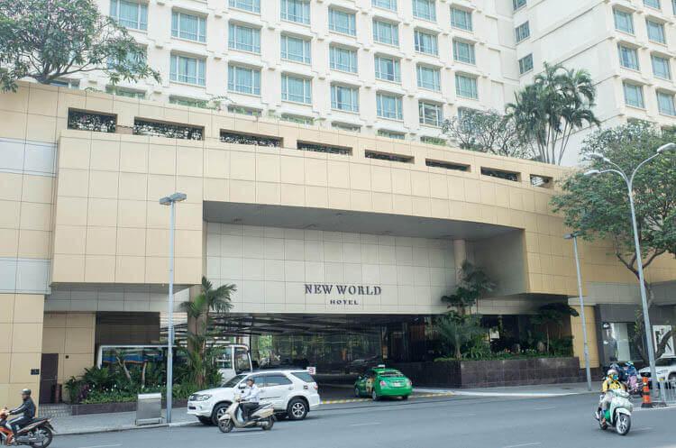 ニューワールドサイゴンホテル  入り口