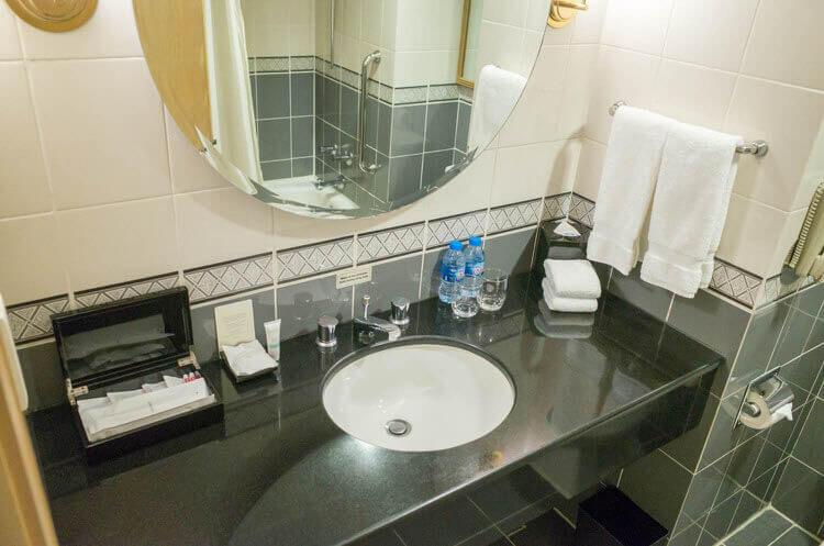 ニューワールドサイゴンホテル  洗面台